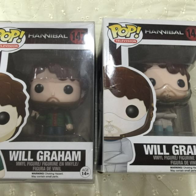 Funko Pop Will Graham set