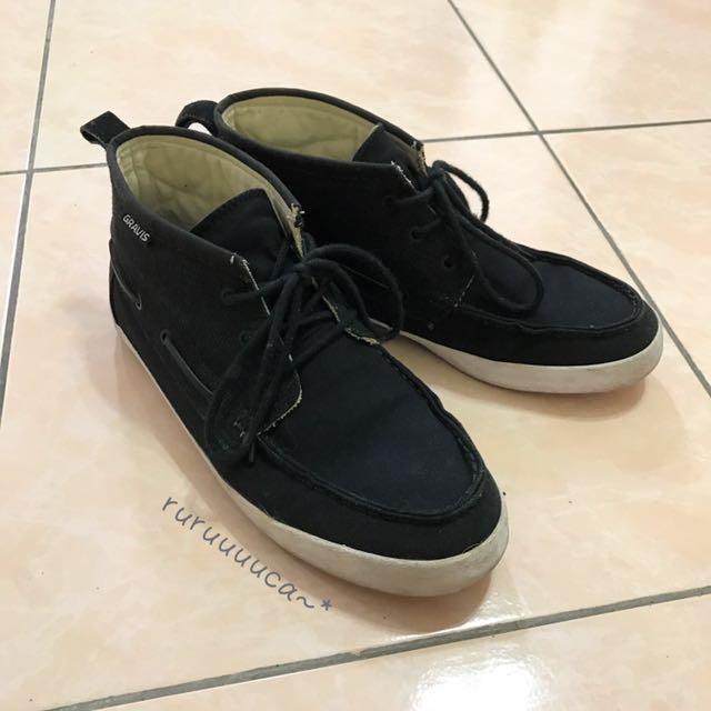 GRAVIS美國滑板品牌中筒滑板鞋