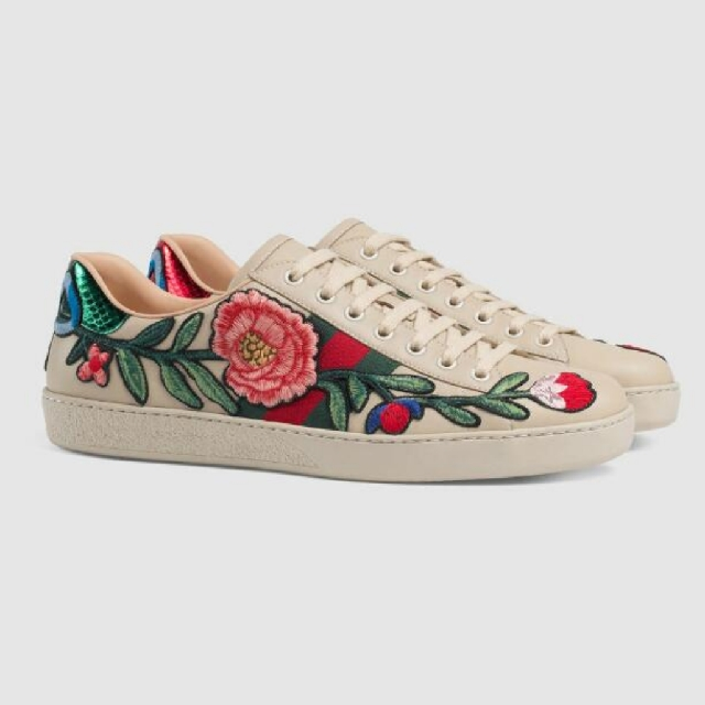d2aa2a36ccc Gucci Ace Embroidered Low Top Sneaker