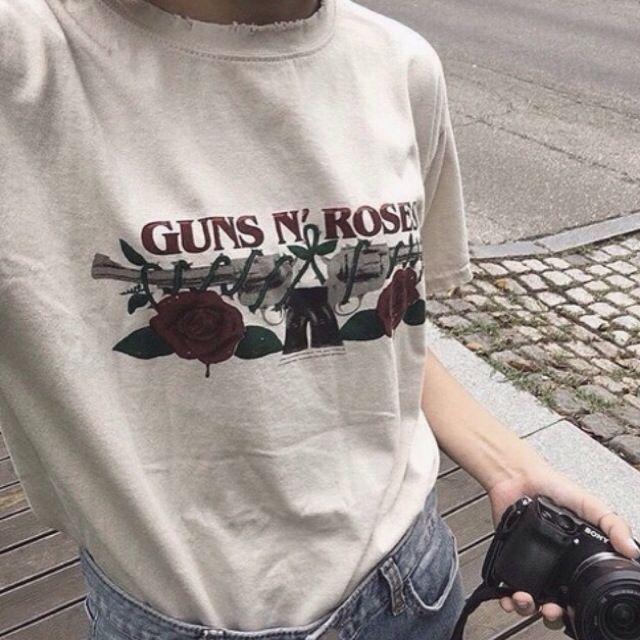 GUNS 'N ROSES TUMBLR TEE