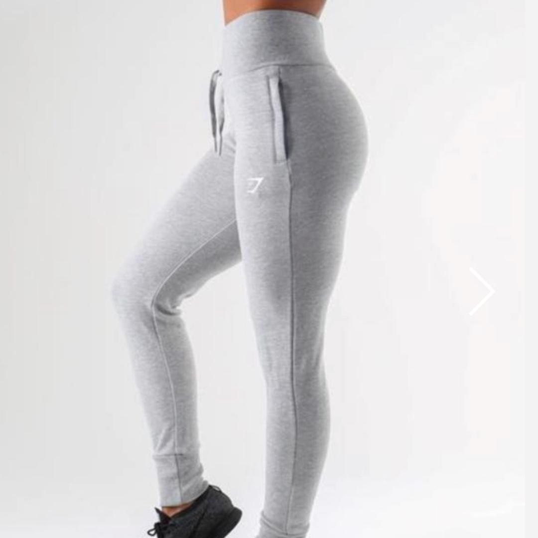 Gymshark fitted track-pants