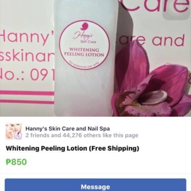 Hanny's skin care Lotoin