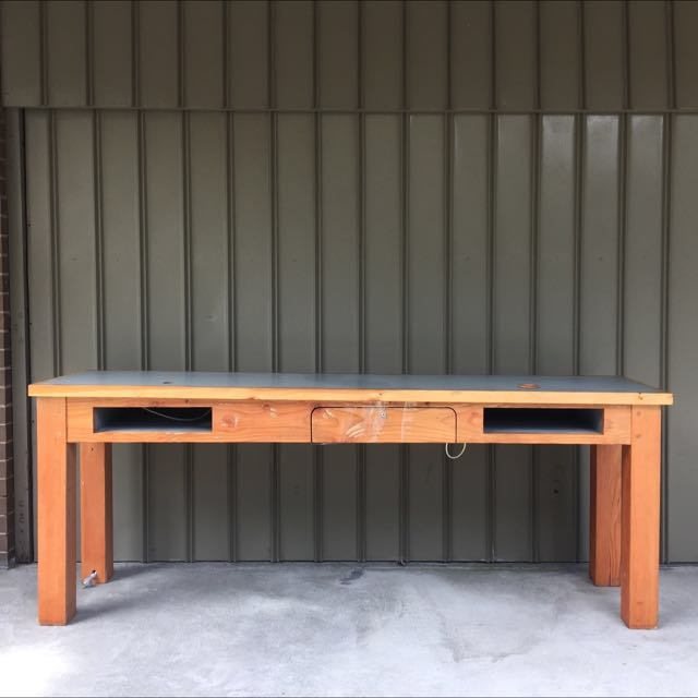Hard Wood Bench Table