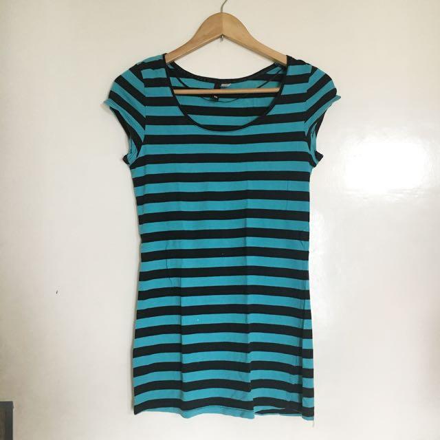 H&M Stripes Shirt Dress