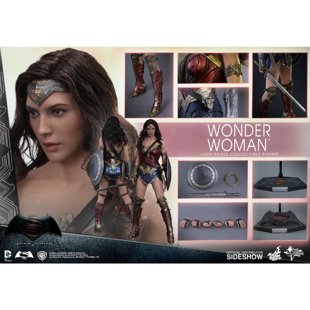 Hot Toys MMS359 BvS Wonder Woman