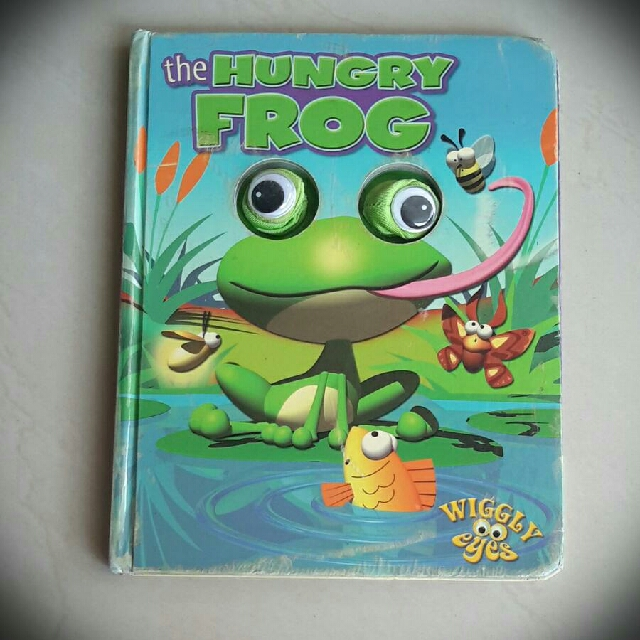 Hungry Frog hard cover