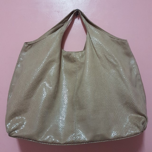 Imported oversized brown bag
