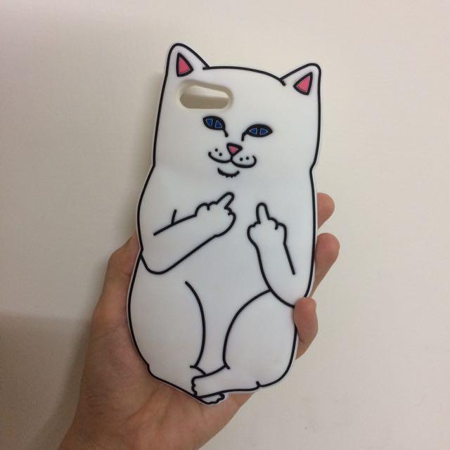 中指貓Iphone7手機殼
