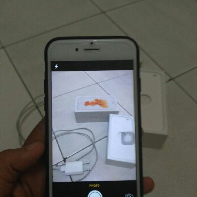 Iphone 6s rosegold 16gb BARTER OPPO F3 PLUS