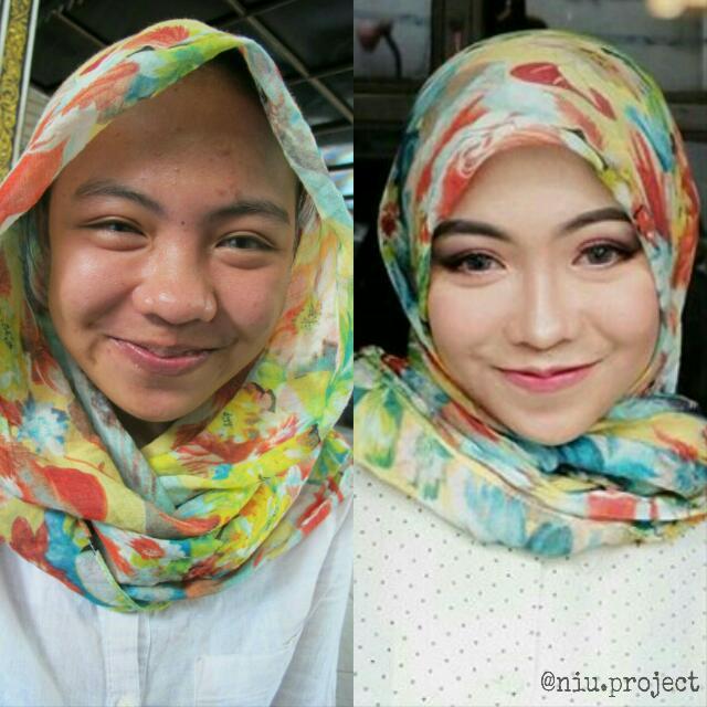 Jasa Makeup Termurah + (Hairdo/Hijabdo)