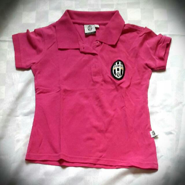 Juventus Official Polo Shirt Pink