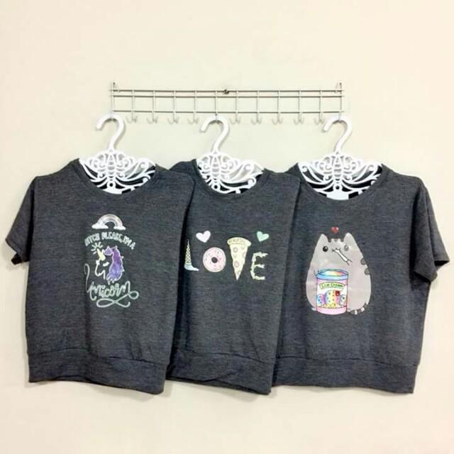 Kawaii Print Shirt