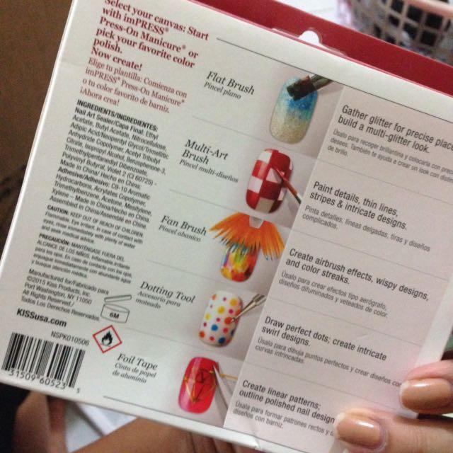 Kiss Nail Art Starter Kit Preloved Health Beauty Perfumes Nail