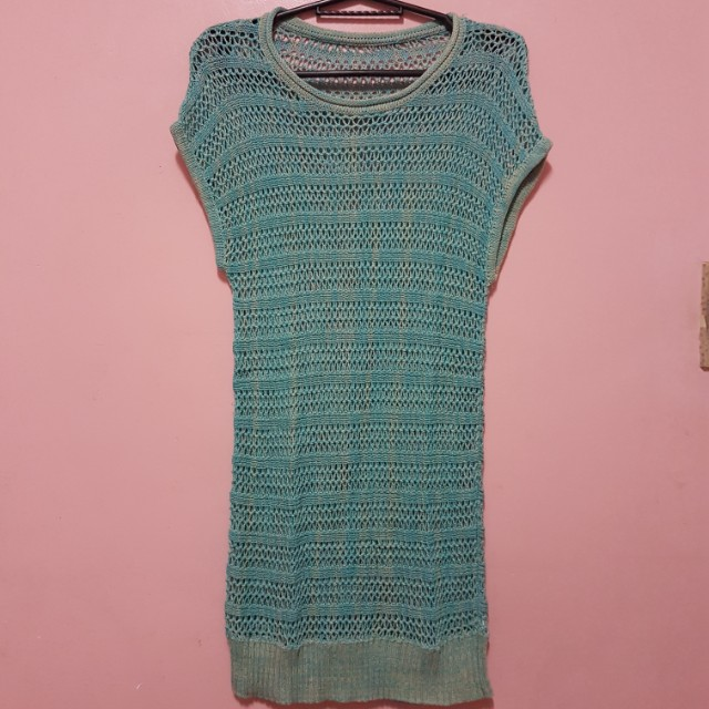 Knitted Blouse/ Cover-up