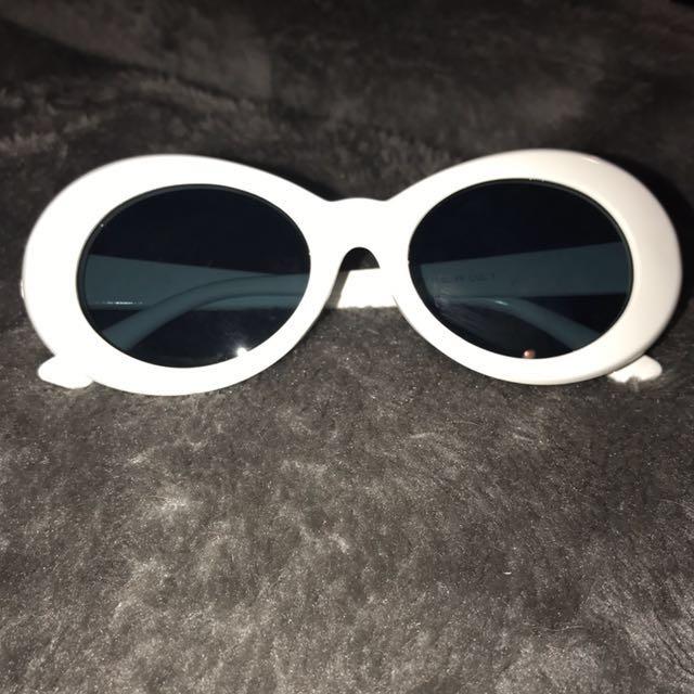 Kurt Cobain cheap glasses white
