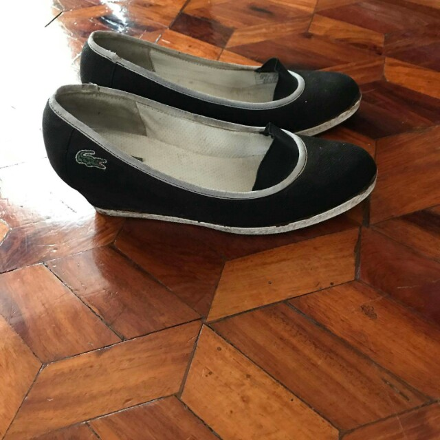 lacoste wedge