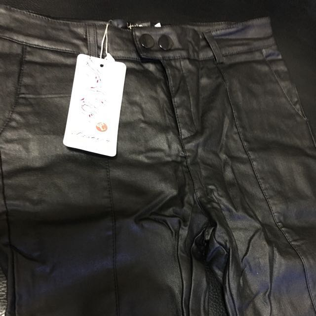 Leather PU Pants