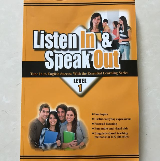 Listen In & Speak Out Level 1