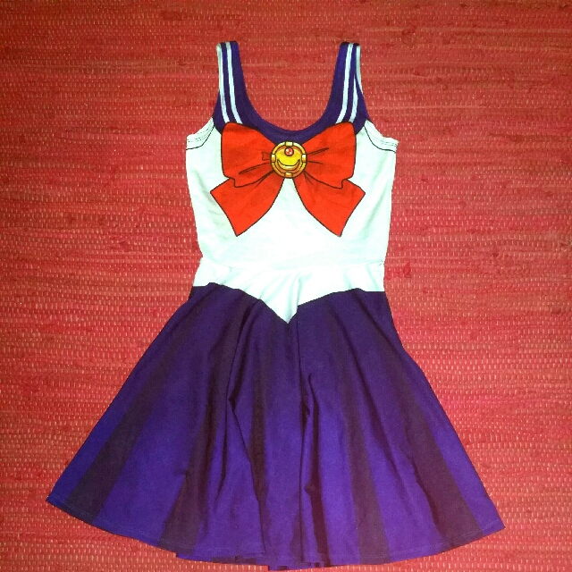 Living dead sailor saturn dress