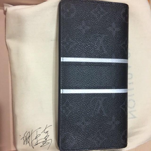 Louis Vuitton x 藤原浩 閃電 皮夾 超保值 日本專櫃購入 保證正品 不正來吉