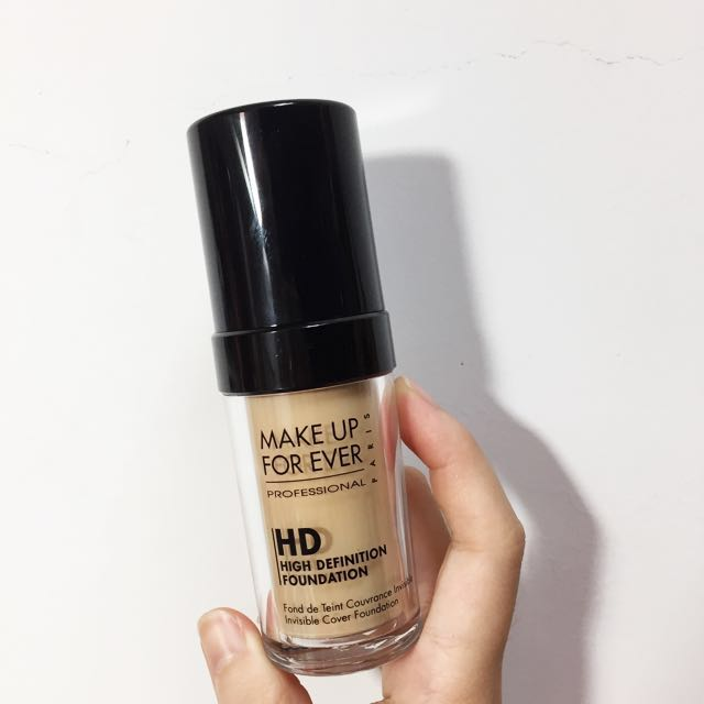 Make up for ever HD粉底液