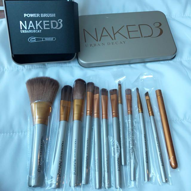 Makeup Brushes Set Naked 3
