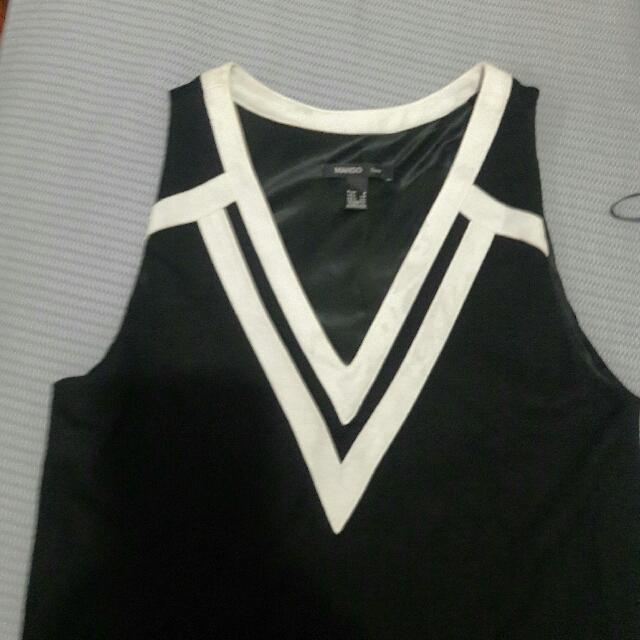 Mango Suit  Sleeveless Dress