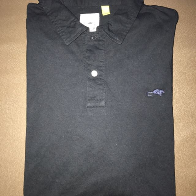 Marc Jacobs Black Polo's Stinky Rat Collection Size XL