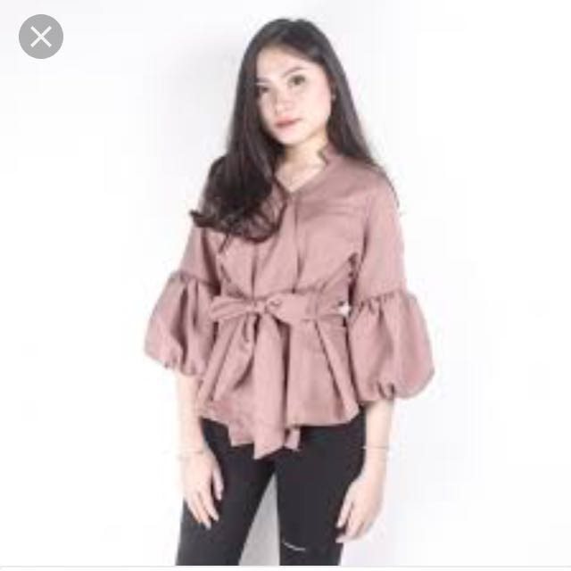Matilda Top Brown