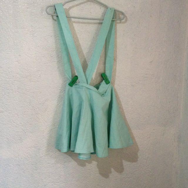 Mint jumper skirt