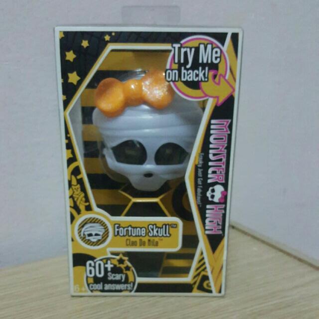 Monster High Cleo Fortune Skull