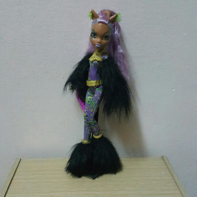 Monster High Ghouls Rule Clawdeen Dolls