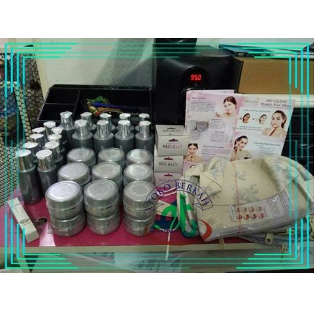 Ms Glow Health Beauty Bath Body On Carousell Red Jelly