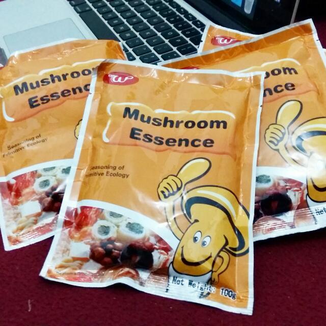 Mushroom Essence Pengganti Micin. Sehat!
