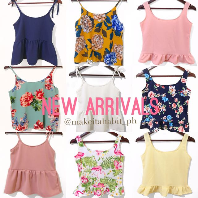 🌟NEW ARRIVALS🌟 Sleeveless Tops 🌺