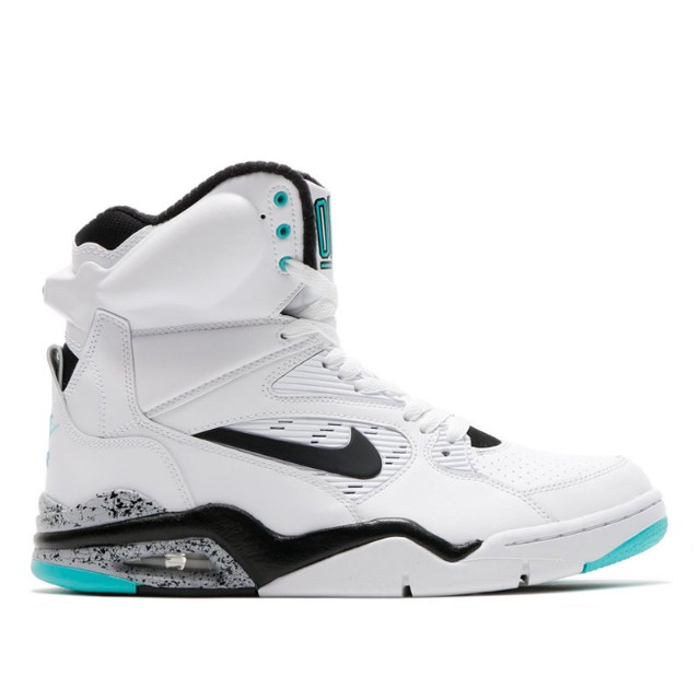 06d5d8816235 NIKE AIR COMMAND FORCE (WHITE BLACK-WOLF GREY-HYPER JADE) (Nike air ...