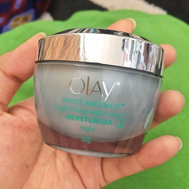 Olay White Radiance Brigthening Night Cream