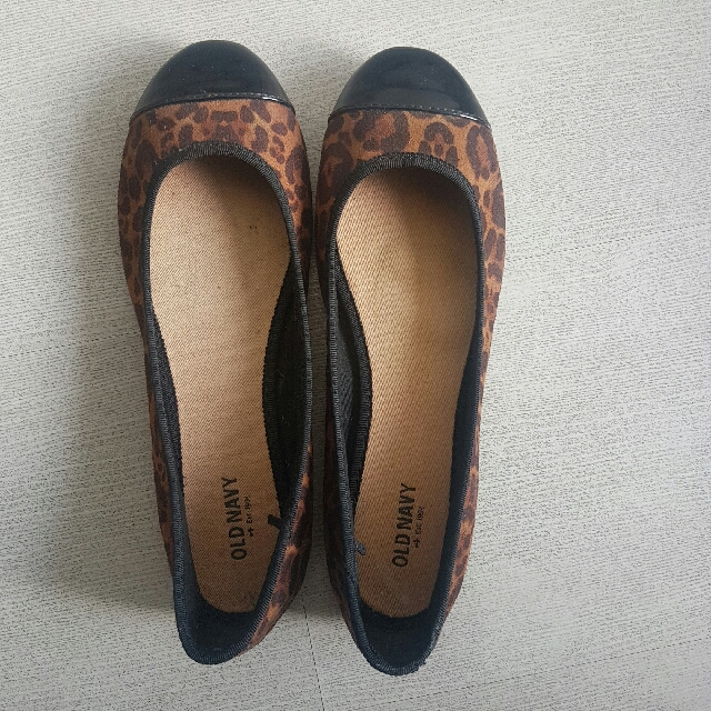 Old Navy Cheetah Print Flats