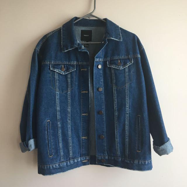Oversized Boxy Denim Jacket