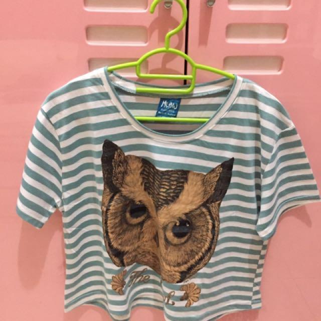 Owl croptop