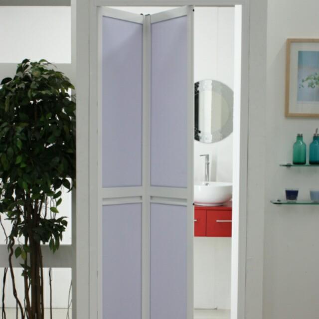 Pintu Lipat Bifold Bilik Air Tandas Toilet Bathroom Folding Door