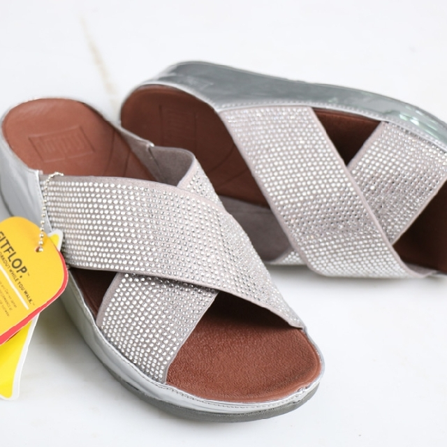 1f991bf3b76 PO  Fitflop Crystal Slide Sandals for Women