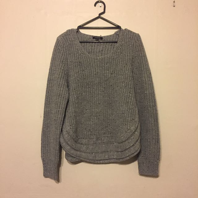 PORTMANS GREY KNIT SWEATER