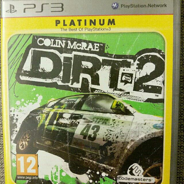 PS3 Colin McRae DIRT 2 Rally Racing Game