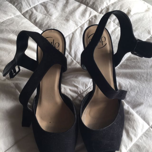 Pulp Block Heel Shoes