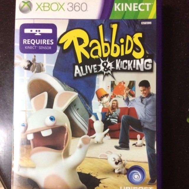 Rabbids Alive & Kicking for XBox Kinect 360