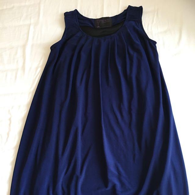 Sack dress biru