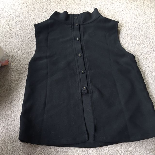 Seed button back top size 6