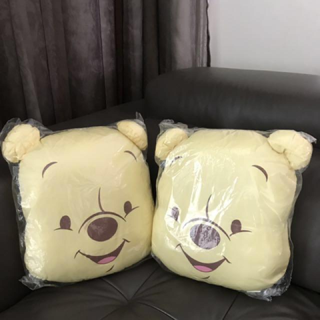 9b3ef4095c7e 🆕Set Of 2 Winnie Pooh Cushion on Carousell