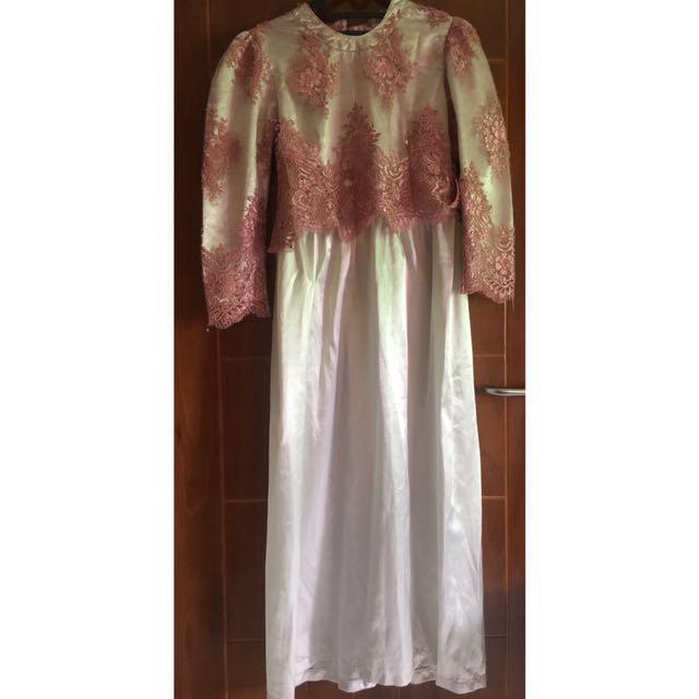 Silver-pink Dress